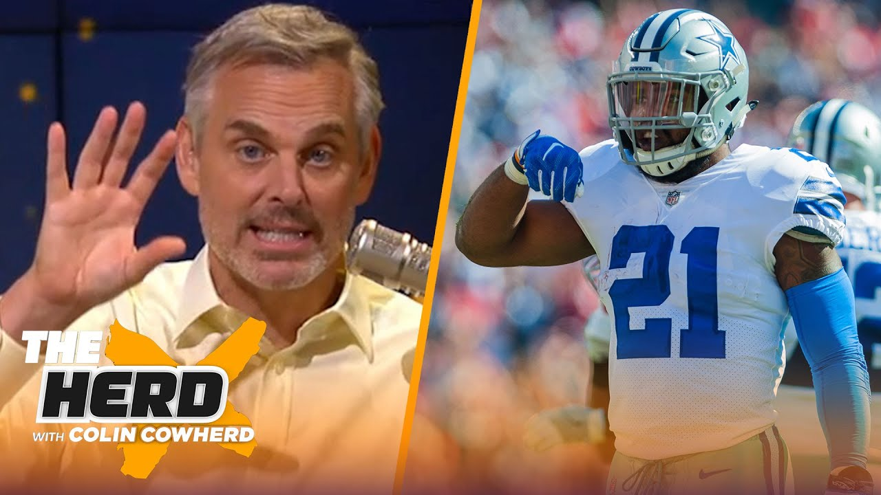 Rashad Jennings on Cowboys' success in Zeke, Pats/Chiefs & Trevor Lawrence's future   NFL   THE HERD
