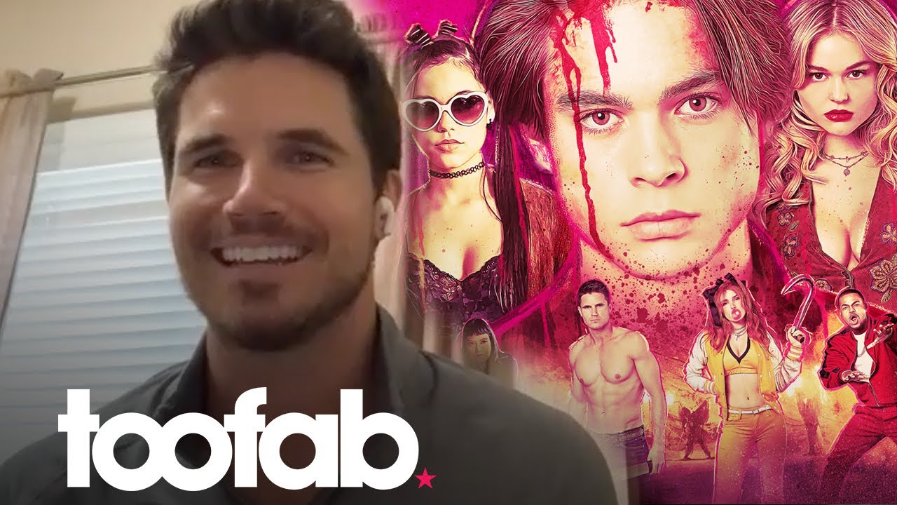 Robbie Amell on Going Shirtless for 'The Babysitter: Killer Queen' | toofab