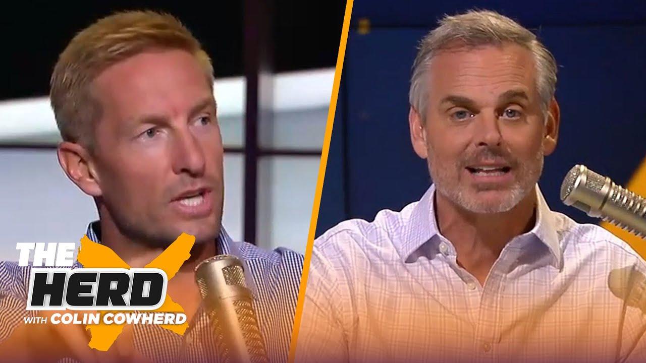 Should the Jets move off Sam Darnold for Trevor Lawrence? Talks SEC Football — Joel Klatt | THE HERD