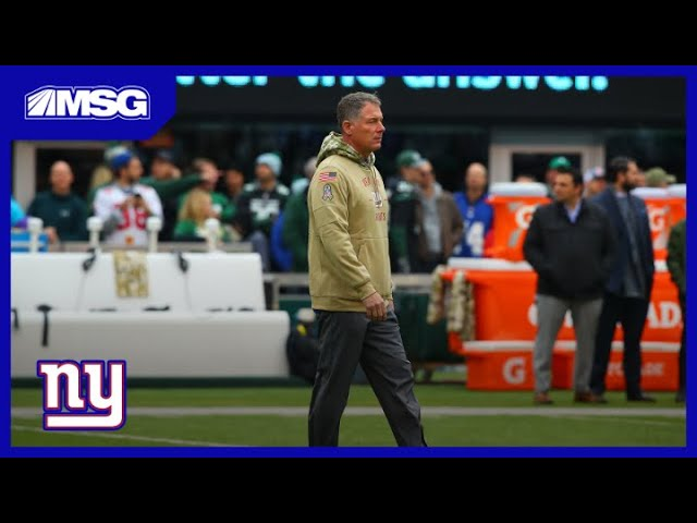 Shurmur Weighs In On His Job Security Following Loss To Jets | New York Giants