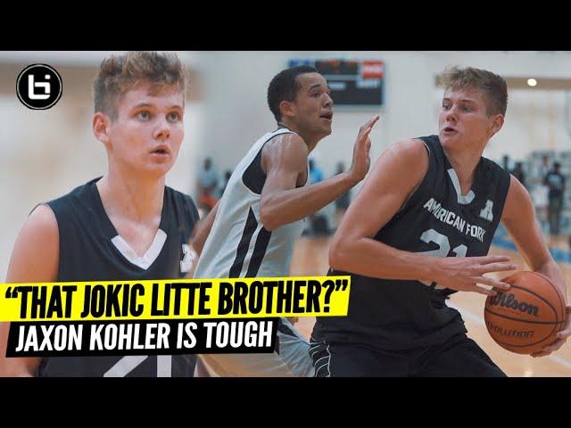 """THIS JOKIC LITTLE BROTHER?"" Jaxon Kohler Is Tough!"