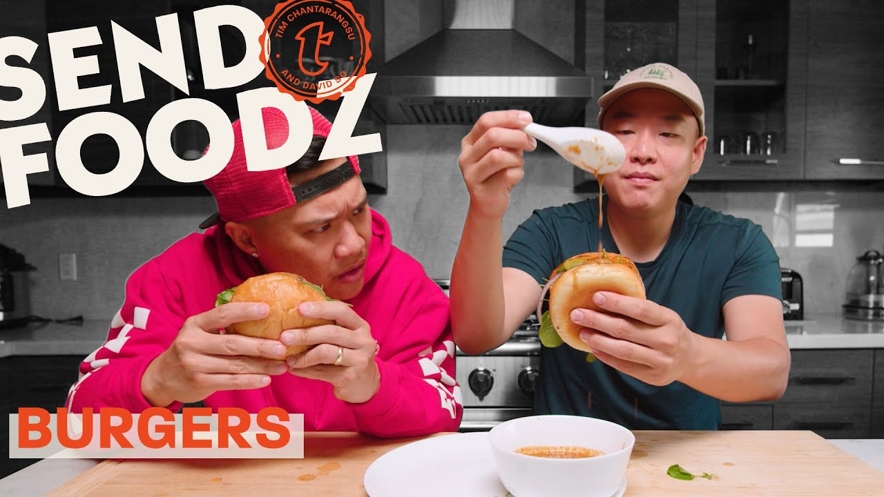 Tim and David's Battle of the Burgers | Send Foodz