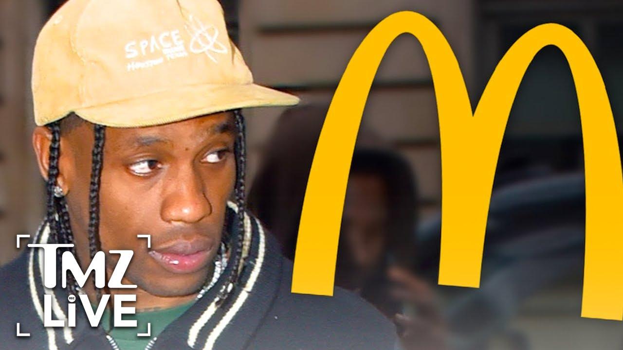 Travis Scott's McDonald's Fine Gets Paid After Fan's Swarm Restaurant | TMZ Live