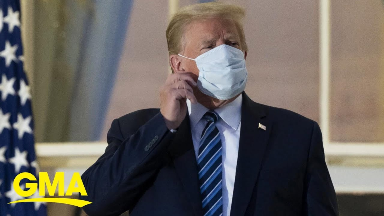 Trump holds radio rally and goes on FOX News to assure he's in good health | GMA