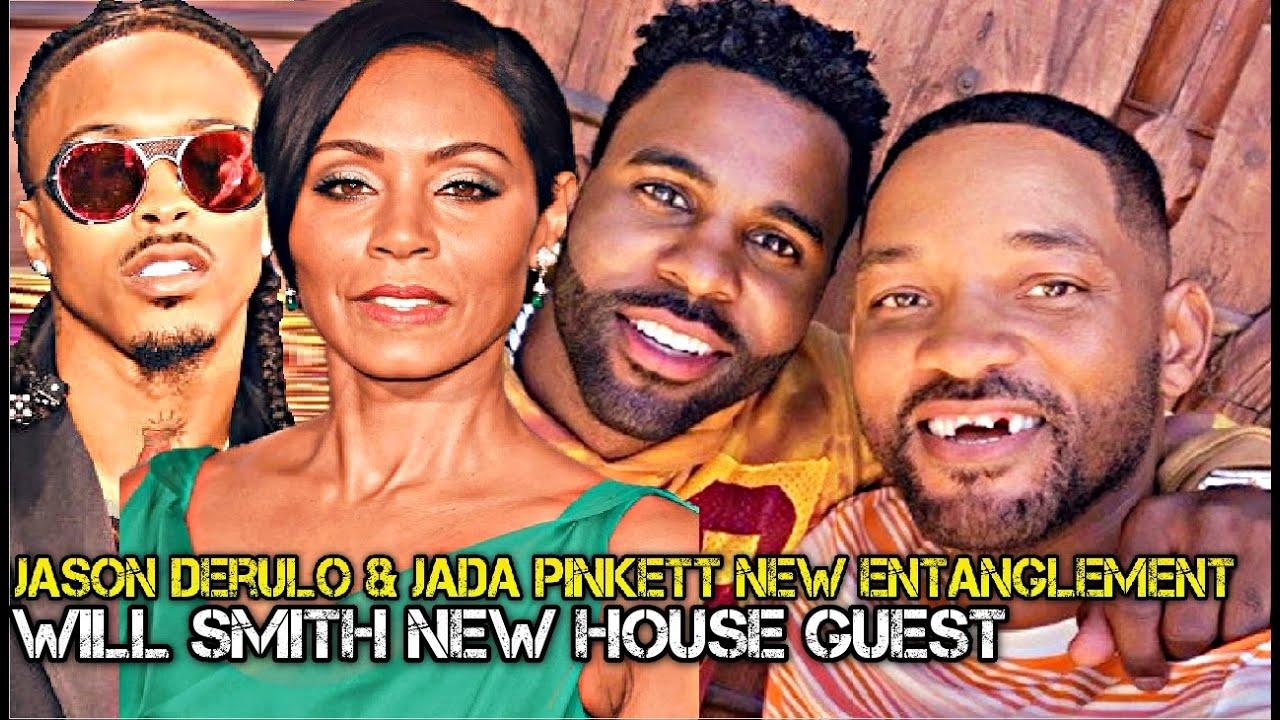 Will Smith Invites Jason Derulo For NEW! Entanglement w/ Jada Pinkett Smith...No More August Alsina