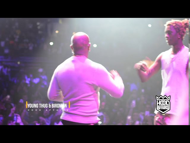 YOUNG THUG LIVE WITH BIRDMAN ( THROWBACK SNIPPET )