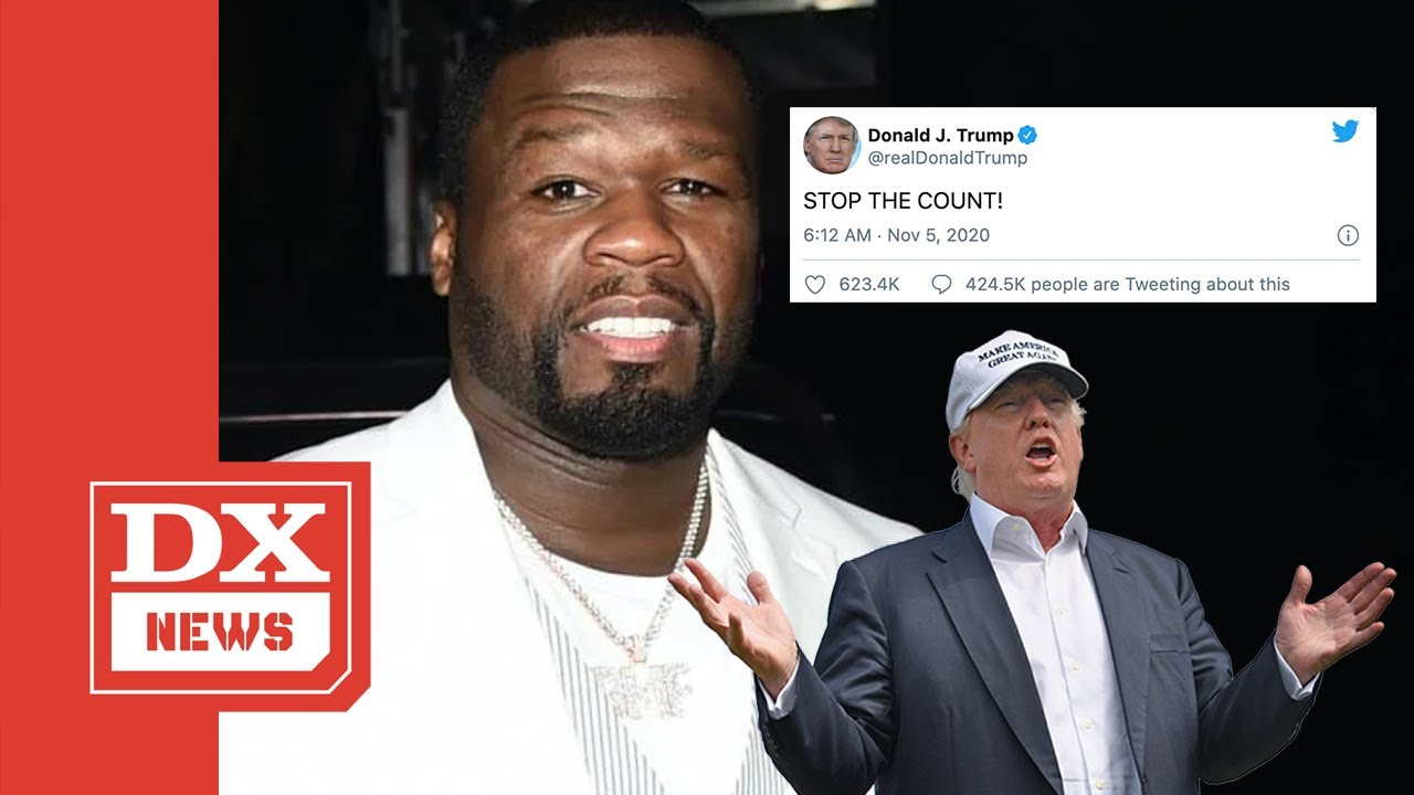 50 Cent Continues Clowning Donald Trump After He Demands 'Stop The Count!'