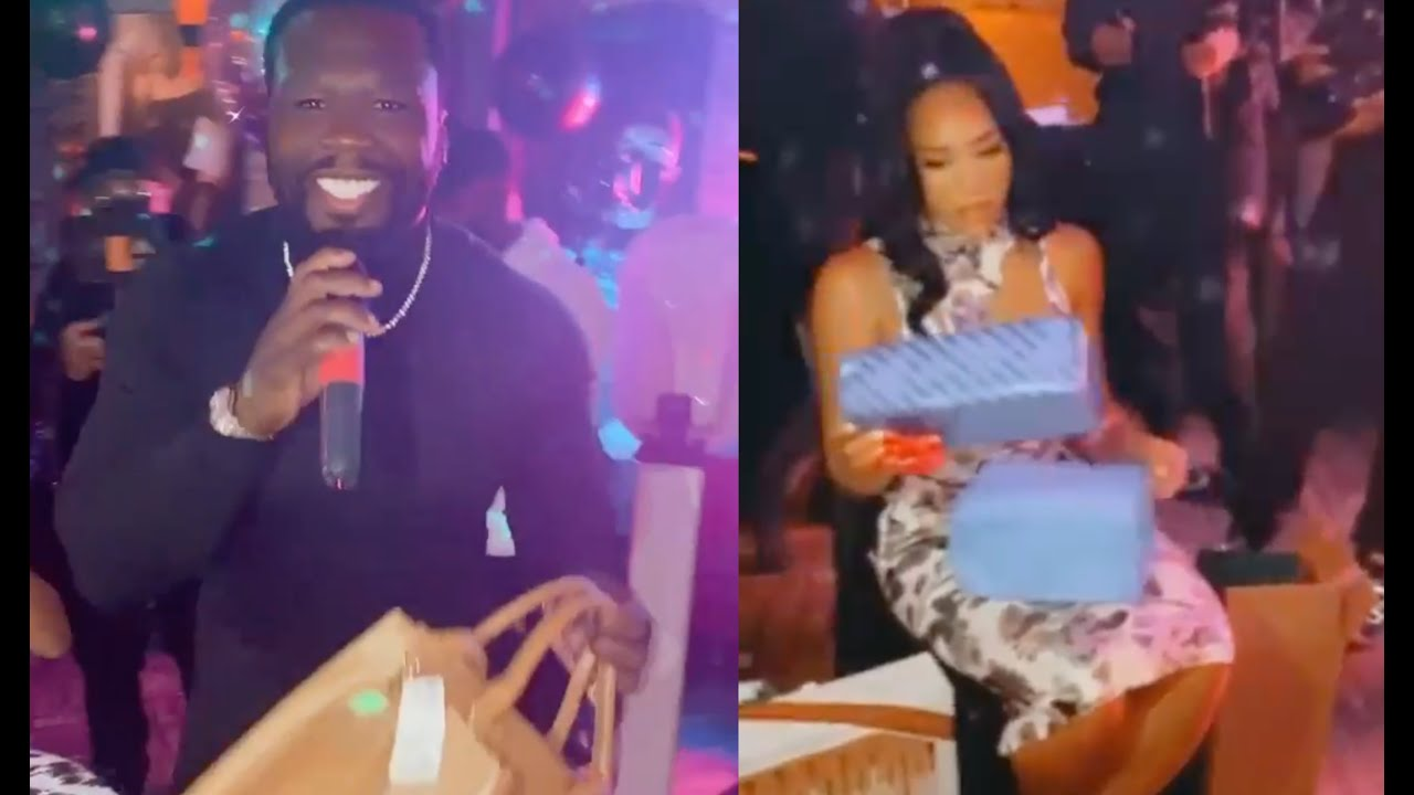 50 Cent So Savage Buys GF A Walmart Bag Instead Of Birkin On Her Birthday