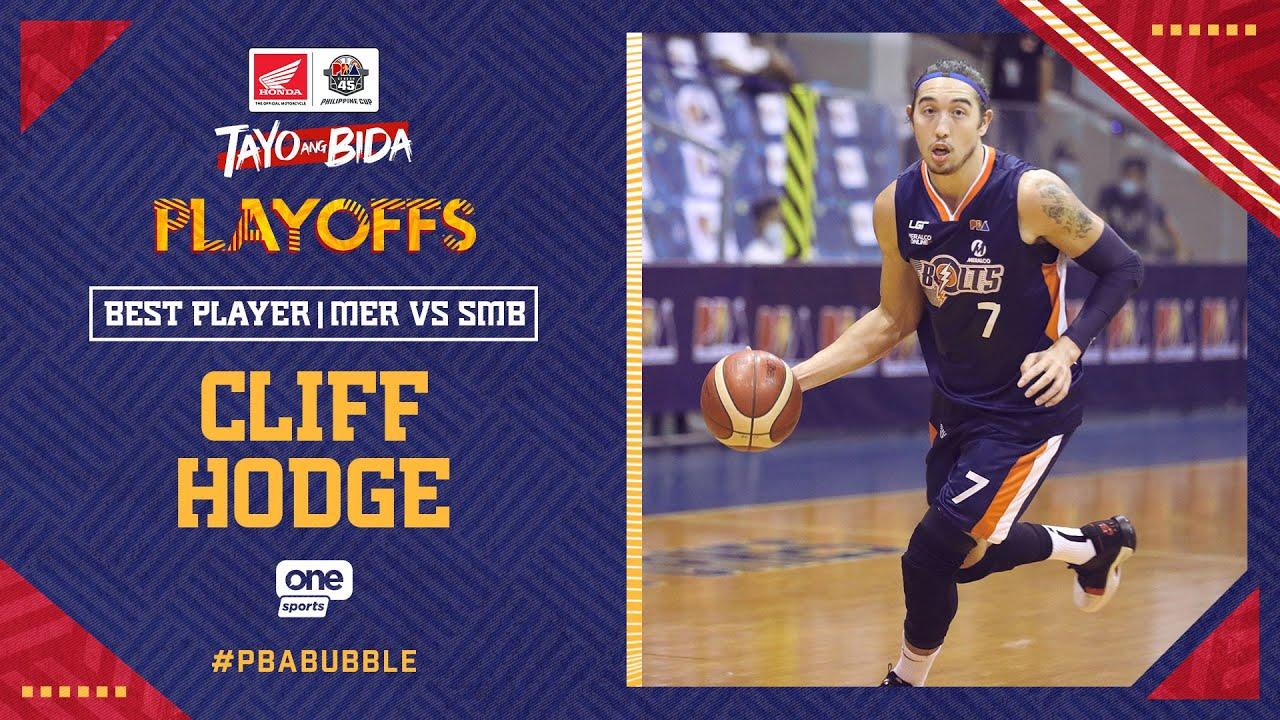 Best Player: Cliff Hodge   PBA Philippine Cup 2020 Quarterfinals
