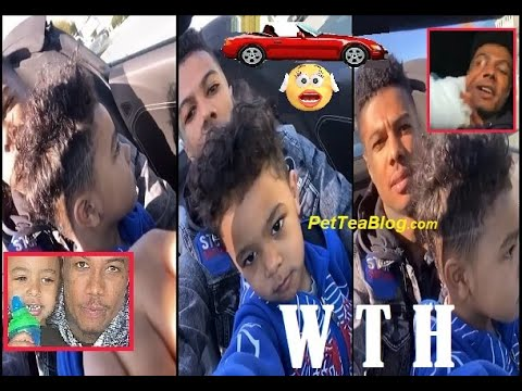 Blueface Lets 3 Yr Old Son Drive While Recording, CPS on Stand By (ViDEO)🤨🚗