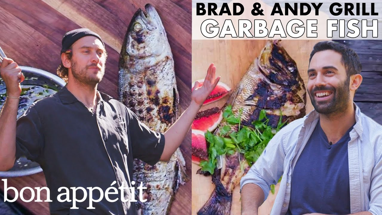 """Brad and Andy Grill """"Garbage Fish"""" 