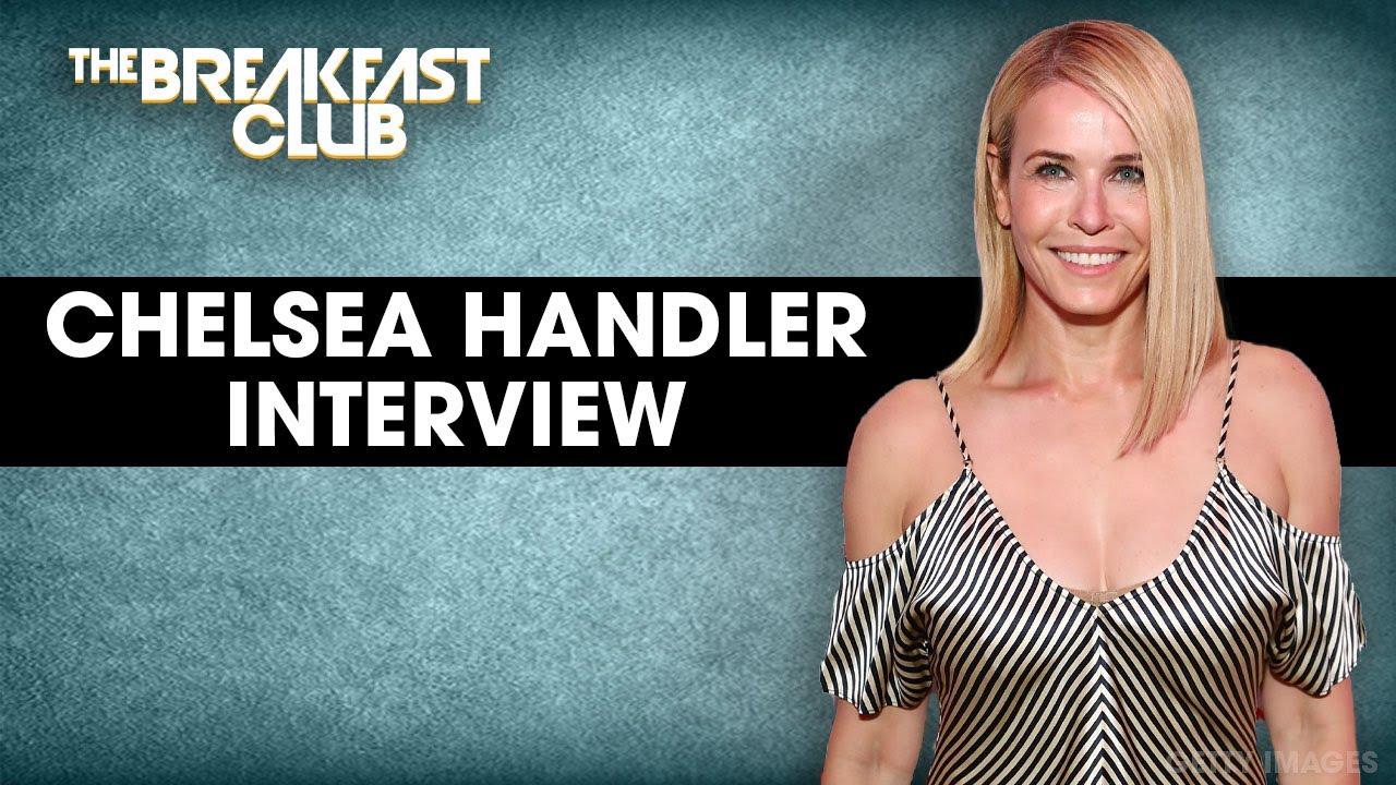 Chelsea Handler Speaks On 50 Cent Biden Support, White Privilege, New Comedy Special + More