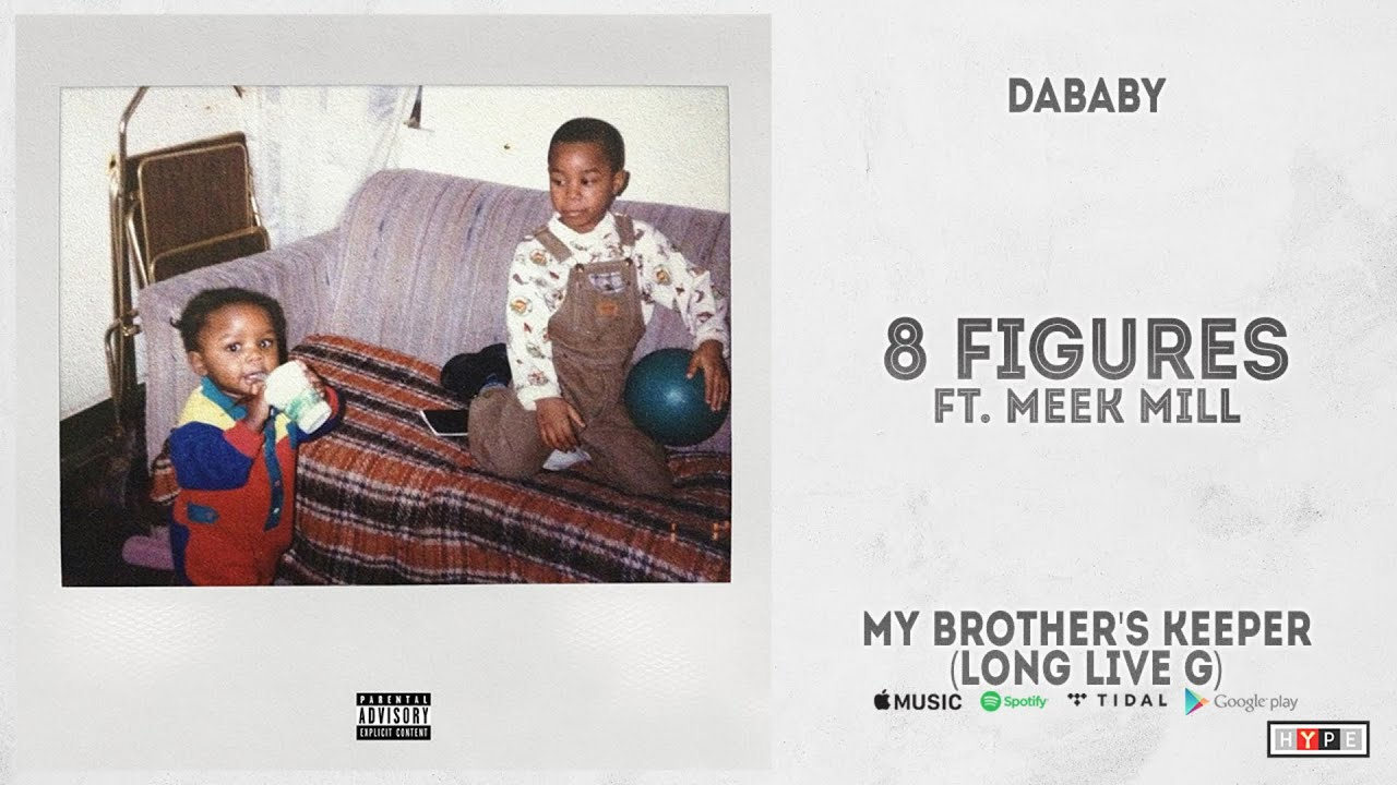 """DaBaby - """"8 Figures"""" Ft. Meek Mill (My Brother's Keeper, Long Live G)"""