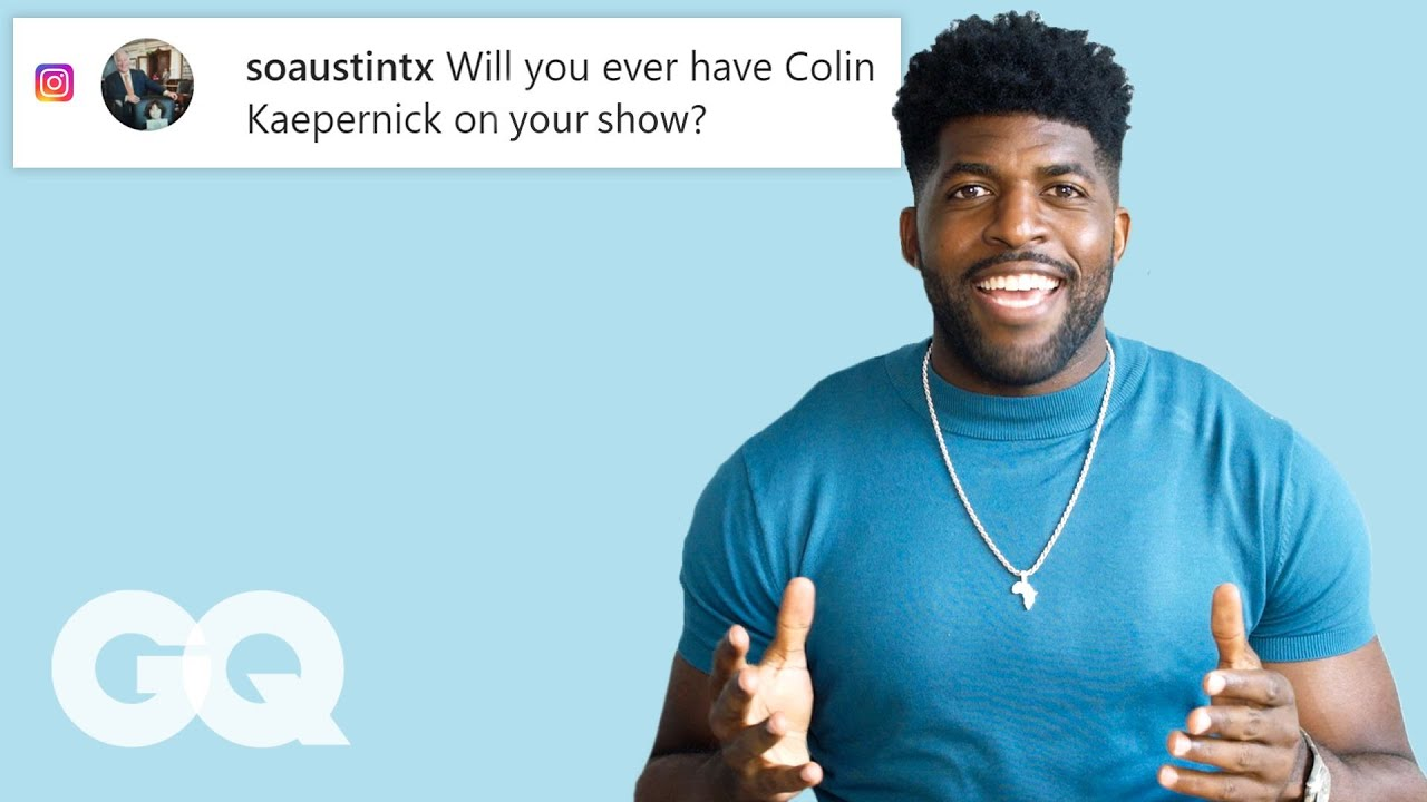 Emmanuel Acho Goes Undercover on YouTube, Twitter and Instagram | GQ
