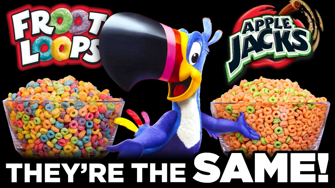 Food Theory: Froot Loops and Apple Jacks Are SECRETLY The Same!