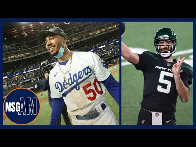 How to Fix the Jets & Could Mookie Betts Be A Met?!   MSG AM