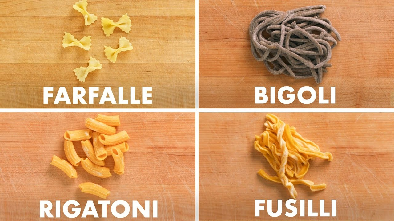 How To Shape Every Pasta   Method Mastery   Epicurious