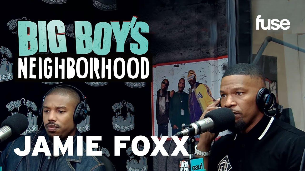 "Jamie Foxx and Michael B. Jordan Talks ""Just Mercy"" And Its Impact   Big Boy x Fuse"
