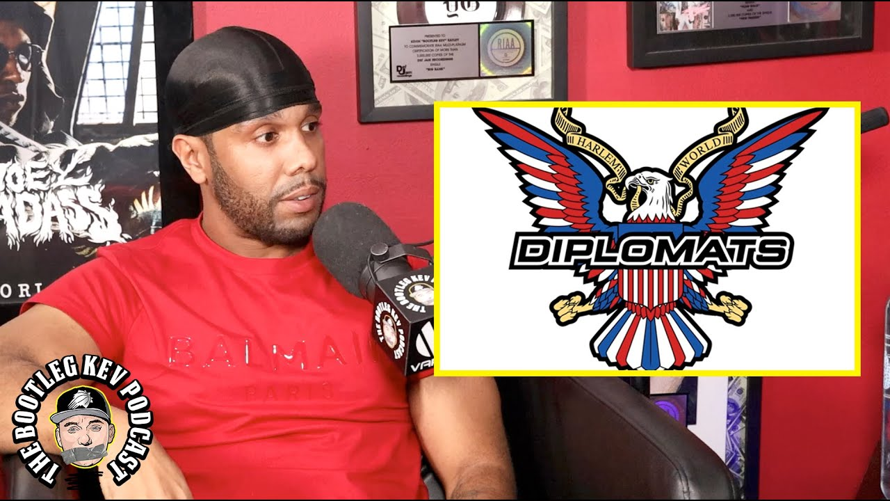 JR Writer on the gift and curse of being a member of Dipset (The Bootleg Kev Podcast)