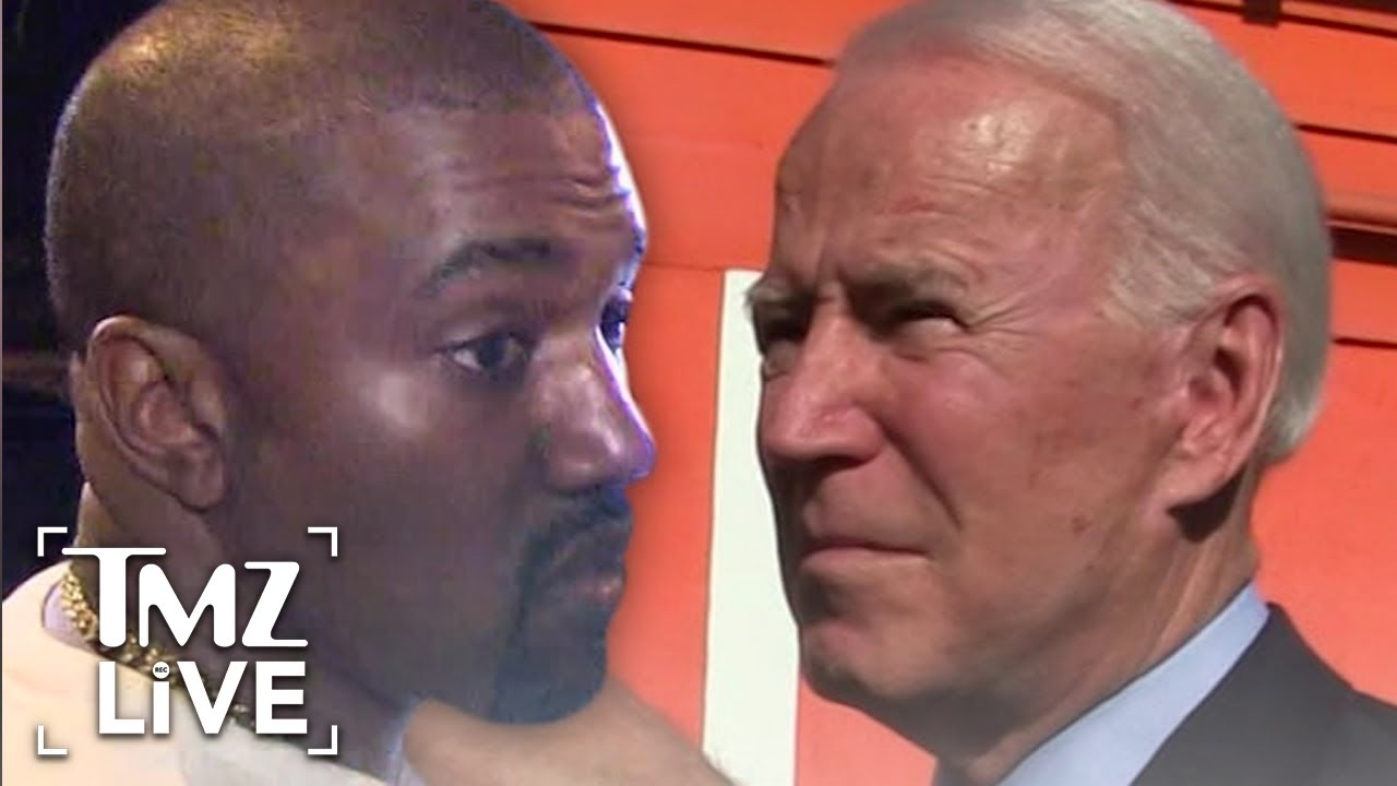 Kanye Tapped as VP for American Independent Party to Hurt Joe Biden | TMZ Live