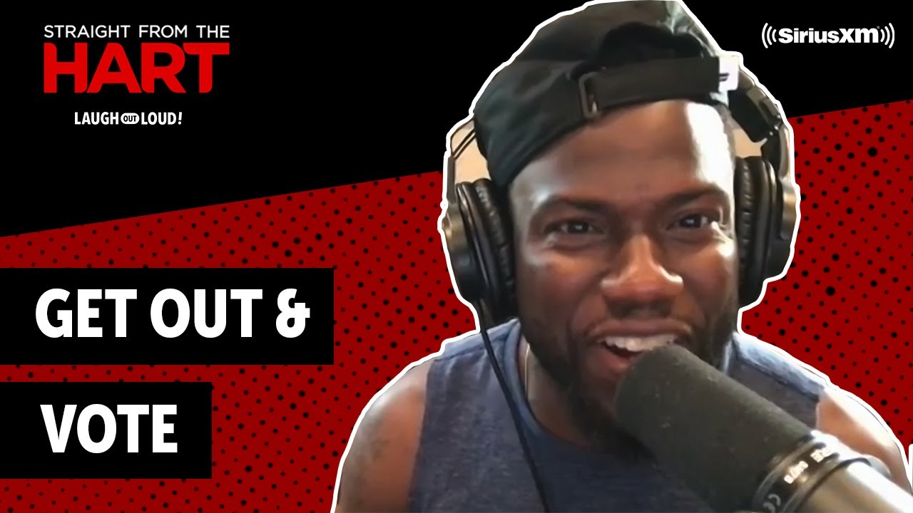 Kevin Hart Wants You To Vote | Straight from the Hart | Laugh Out Loud Network