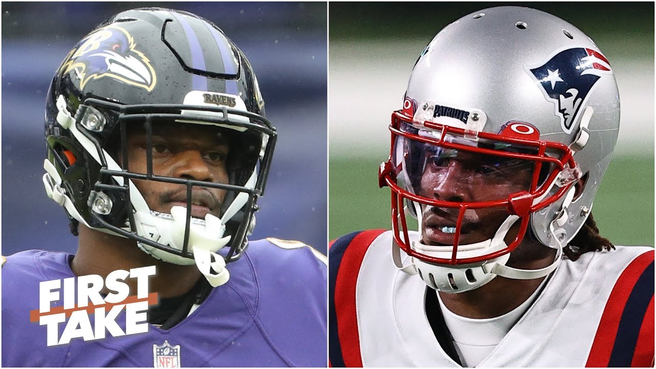 Lamar Jackson or Cam Newton: Which QB do you trust more?   First Take