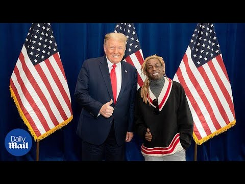 Lil Wayne backs Donald Trump ahead of 2020 election