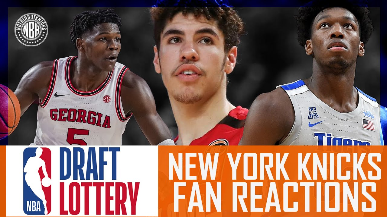 NBA Lottery | New York Knicks | Pre & Post Show Reaction and LIVE Call - In