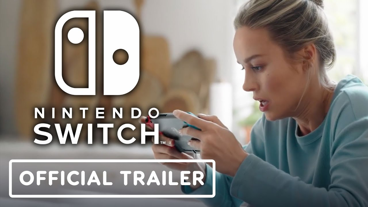Nintendo Switch - Official Trailer (Brie Larson)