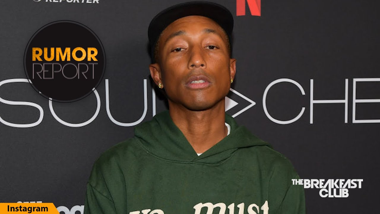 Pharrell Williams' Skincare Routine Has Finally Been Revealed
