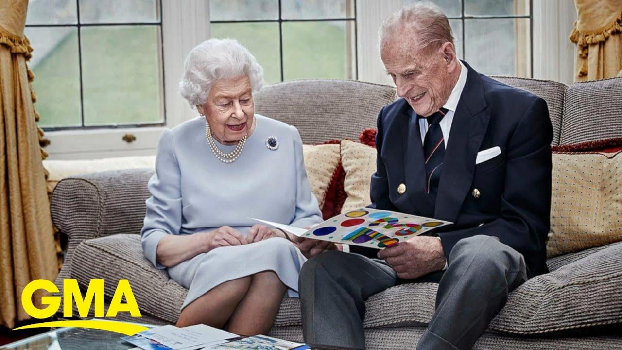 Queen Elizabeth and Prince Philip celebrate 73rd wedding anniversary l GMA
