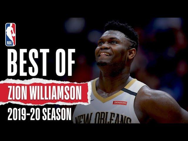 The Best Of Zion Williamson | 2019-20 Season