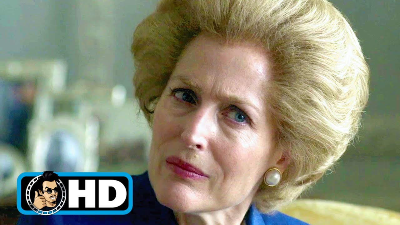 THE CROWN: S4 Clip - Margaret Thatcher Intro (2020) Gillian Anderson
