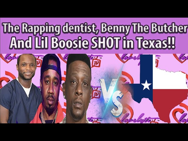 The Rapping dentist, Benny the butcher and Lil Boosie SH0T in Texas over the weekend #fullbreakdown