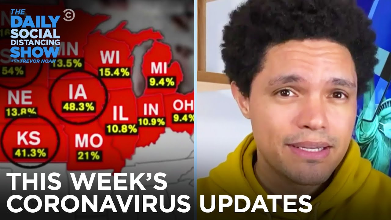 This Week's Coronavirus Updates - Week of 11/9/2020   The Daily Social Distancing Show