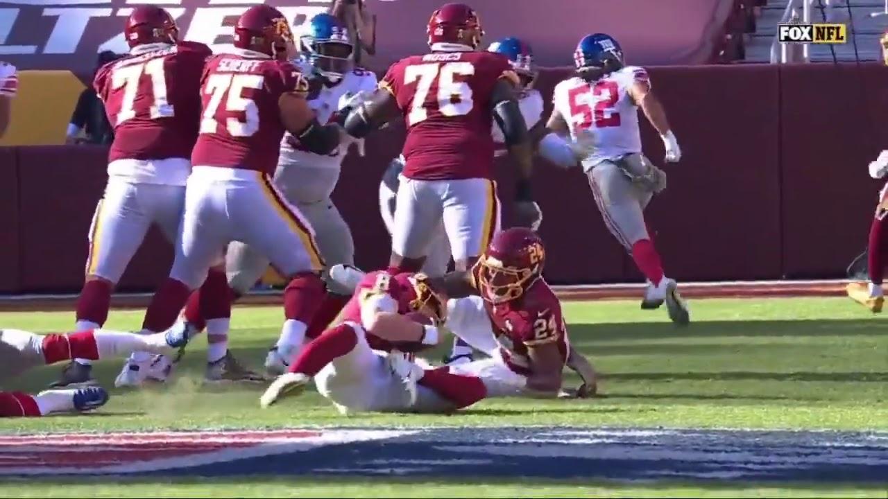 Washington QB Kyle Allen Suffers Horrific Leg Injury vs. Giants, Carted Off Field