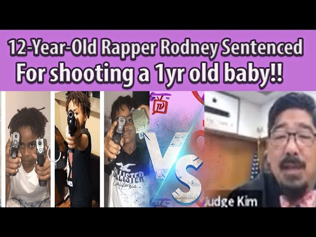 12-Year-Old Rapper Lil' Rodney BREAKS DOWN CRYING after being sentenced To 7 Years In Jail