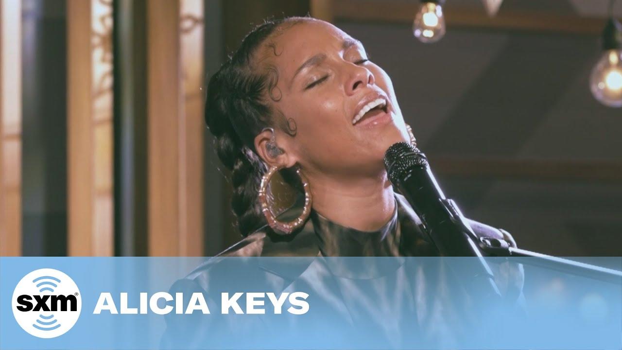Alicia Keys - Ave Maria and Fallin' Medley [Live for SiriusXM]