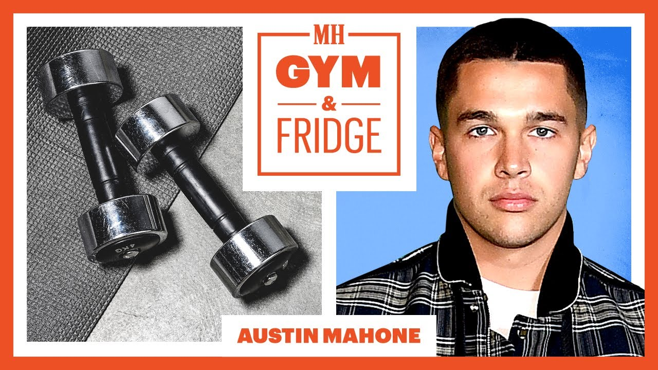 Austin Mahone Shows His Gym & Fridge and Sick Sneaker Collection | Gym & Fridge | Men's Health