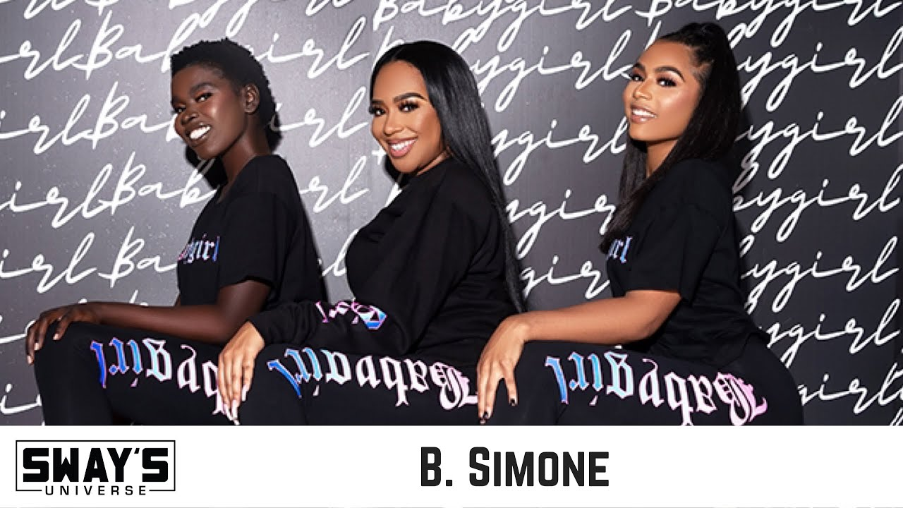 B. Simone Launches 'Baby Girl' Clothing Line at Footaction | SWAY'S UNIVERSE