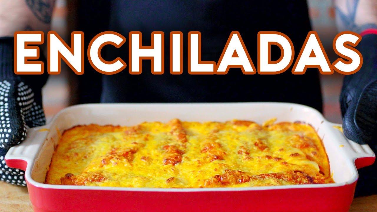 Binging with Babish: Enchiladas from Schitt's Creek