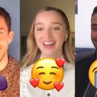 'Bridgerton' Cast Describes Show With Emojis