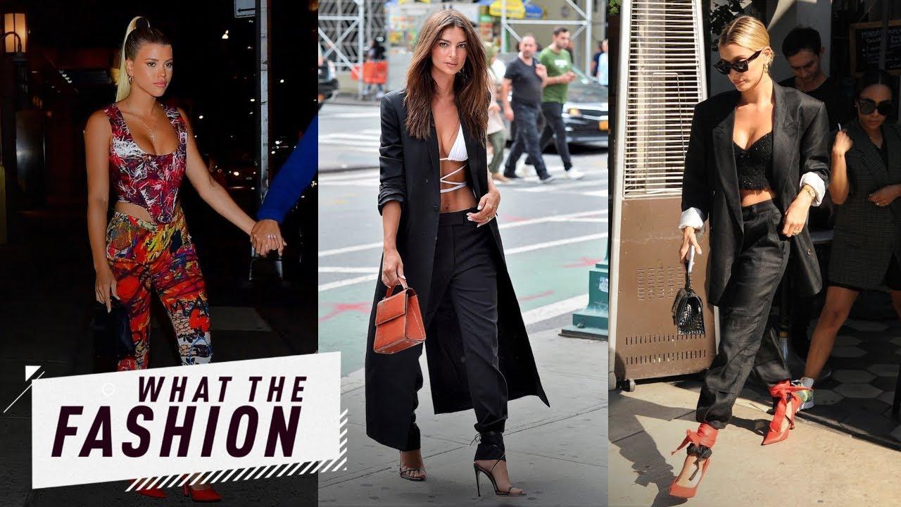 Hailey Bieber vs. Sofia Richie: Shoe Wore It Better?   What the Fashion   S2, Ep. 23   E! News