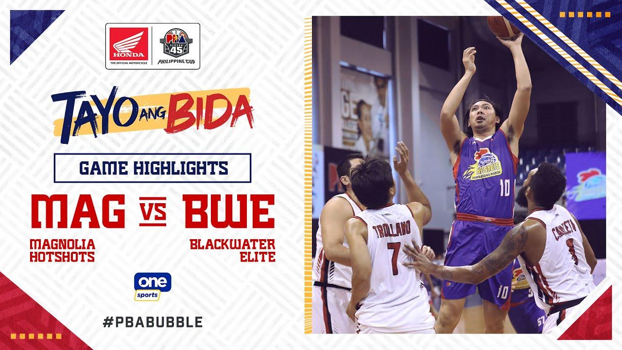 Highlights: Magnolia vs Blackwater   PBA Philippine Cup 2020
