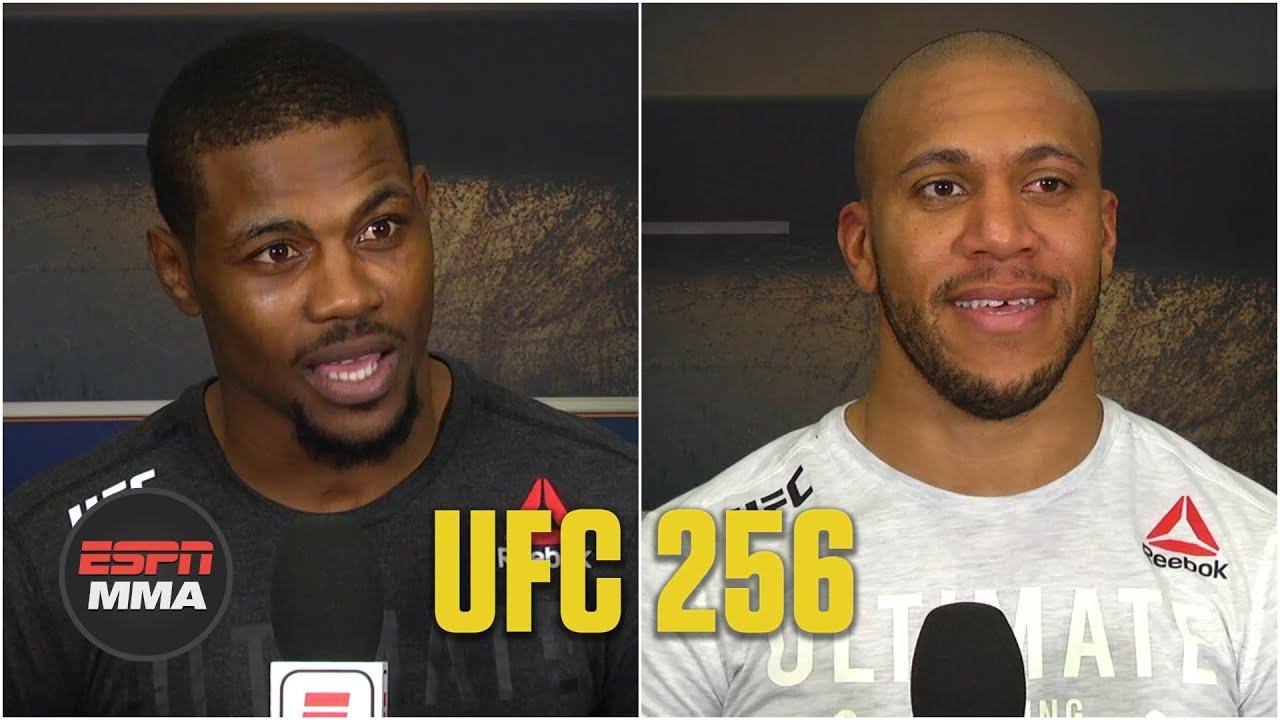 Kevin Holland, Ciryl Gane talk UFC 256 wins | ESPN MMA