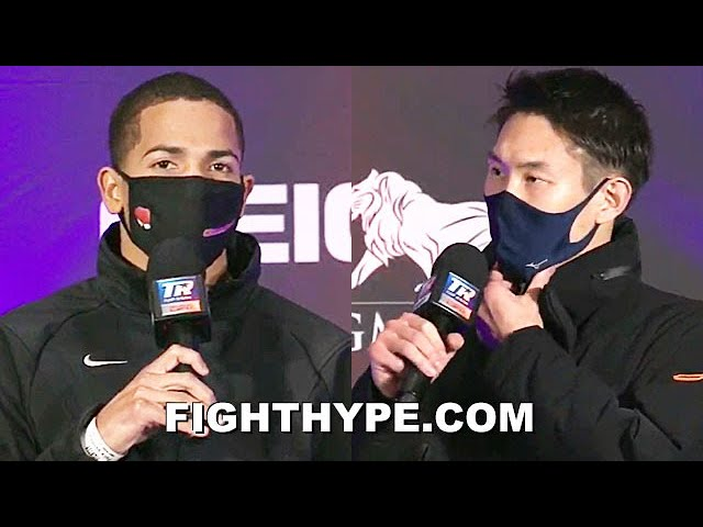 """KNOCK HIM OUT"" FELIX VERDEJO VS. MASAYOSHI NAKATANI FINAL PRESS CONFERENCE & FACE OFF"