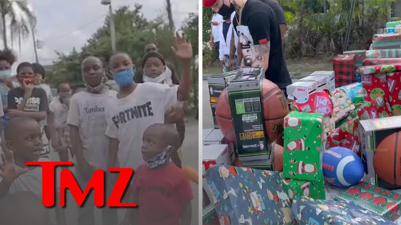 Kodak Black Throws Xmas Toy Drive for Kids From Behind Bars | TMZ