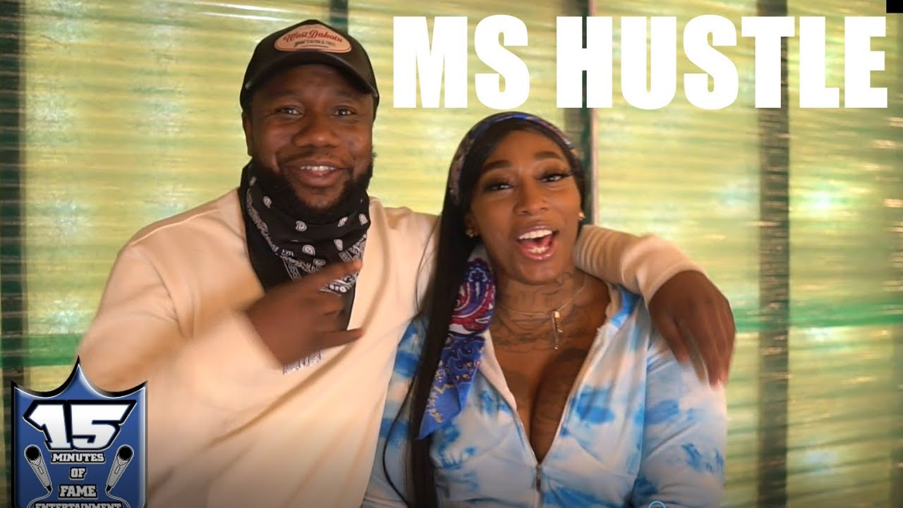 MS HUSTLE SAYS LADY LUCK AND HITMAN ARE THE ONLY 2 PEOPLE THAT I ASKED TO BATTLE