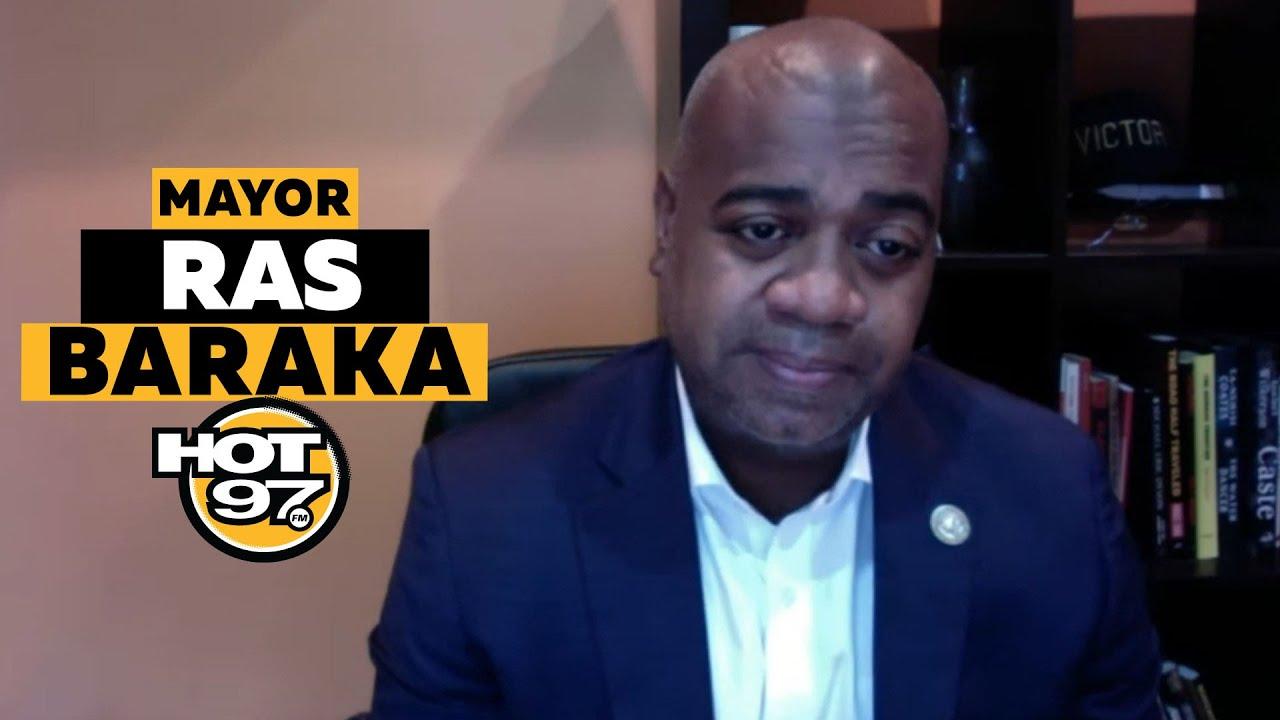 Newark Mayor Ras Baraka Gives COVID-19 Update, Vaccine & New Measures