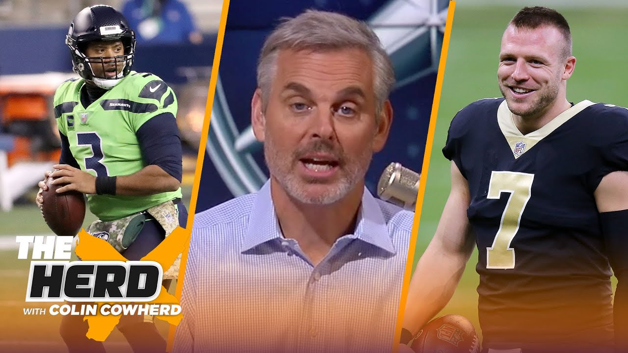 Seahawks looked like contenders, surprised Saints will start Taysom Hill? — Colin   NFL   THE HERD